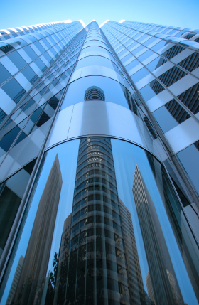 Rippled Skyscraper